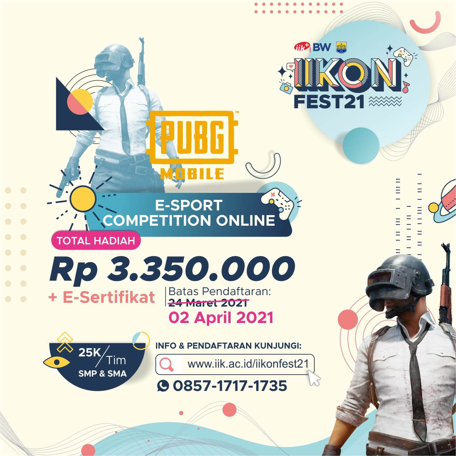 PUBG MOBILE – ONLINE COMPETITION